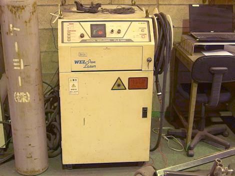 YAGレーザー溶接機