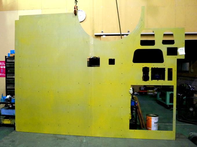 ボディー側板